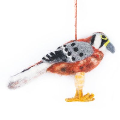 Handmade Kestrel Hanging Fair Trade Decoration