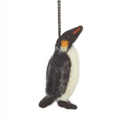 Handmade Biodegradable Handmade Emperor Penguin Decoration