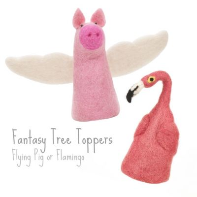 Fantasy Tree Toppers / Egg Cosies
