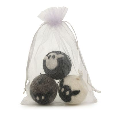 Handmade Biodegradable Felt Sheep Baubles Hanging Easter Decoration