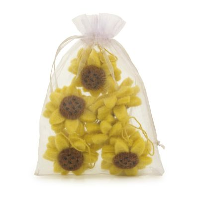 Handmade Biodegradable Hanging Sunflowers (Bag of 6) Easter Decoration