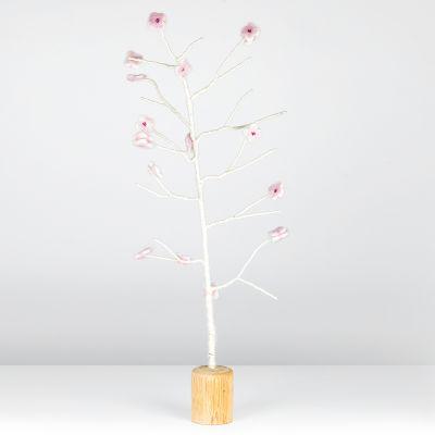 Handmade Decorative Cherry Blossom Tree Standing Home Decoration