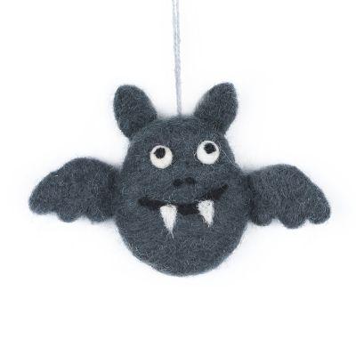 Handmade felt Batty Halloween Hanging Decoration