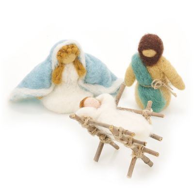Nativity Set 1 (Mary, Joseph and Baby Jesus)