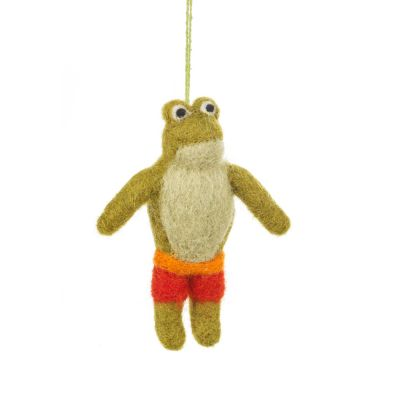 Handmade Felt Spee-Toad Easter Summer Hanging Decoration