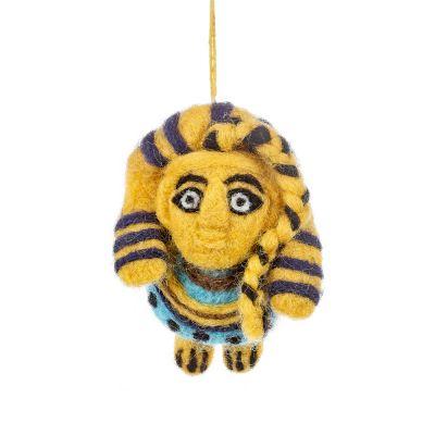 Handmade Felt Ancient Egyptian Sphinx Hanging Decoration