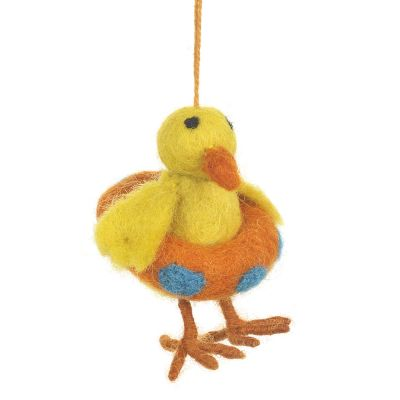 Handmade Felt Swimming Duck Hanging Decoration