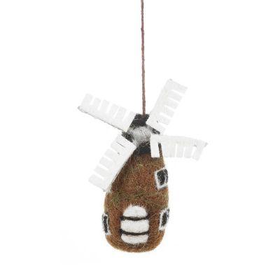 Handmade Dutch Windmill Hanging Decoration