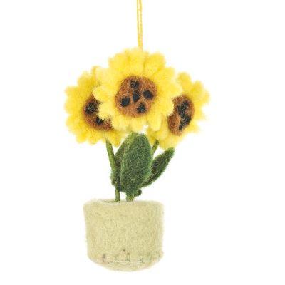Pot o' Flowers Sunflower