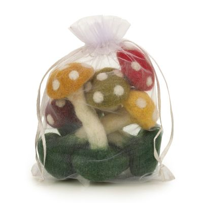 Wild Toadstools (bag of 5)