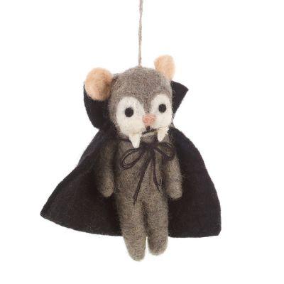 Handmade Victor the Vampire Biodergadable Hanging Halloween Decoration